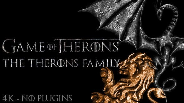 Videohive Game of Medieval Thrones Logo, Title Reveal 23546480