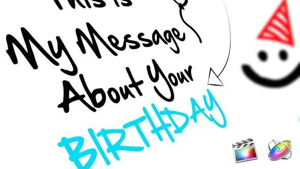 Videohive Birthday 21602239