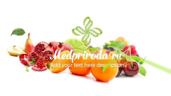 Videohive Healthy Food Opener 23616823
