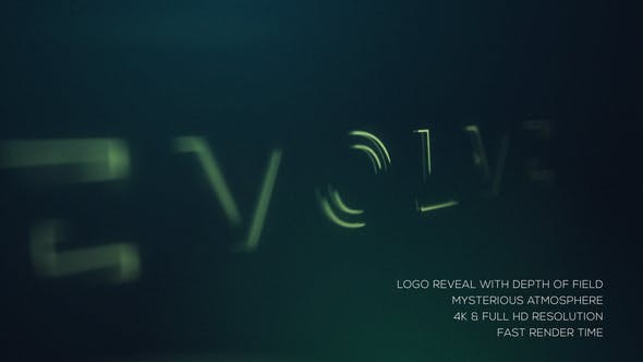 Videohive Mysterious Logo Reveal 22801969