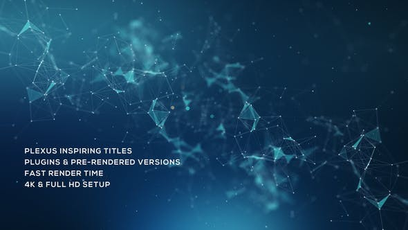 Videohive Plexus Inspiring Titles 23116414