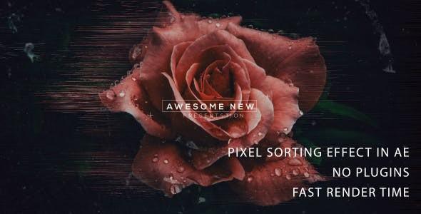 Videohive Pixel Sorting trailer 2 21414253