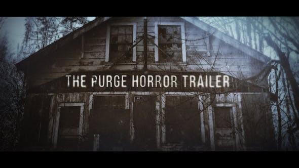 Videohive The Purge Trailer 22640252