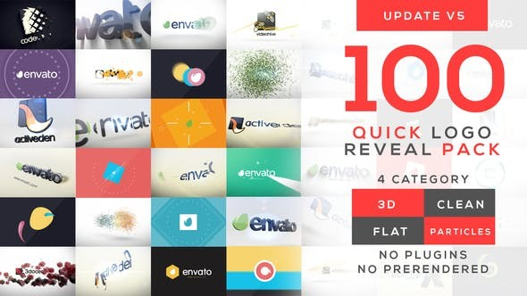 Videohive Quick Logo Reveal Pack V5 10399896