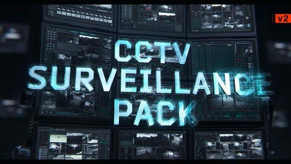 Videohive CCTV Surveillance Pack - v2 22837314