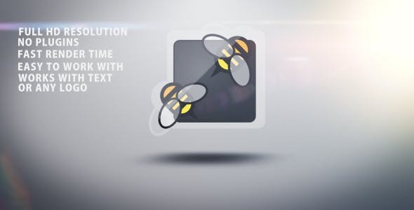 Videohive Wiggly rotation logo opener 2798674