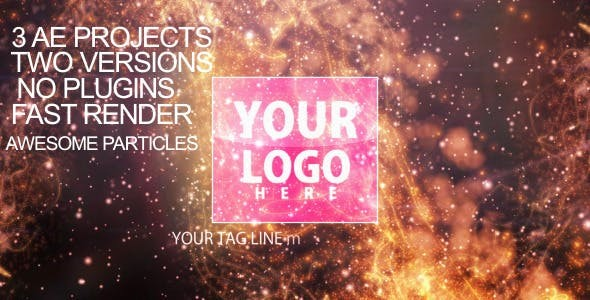 Videohive Particles-flare Logo Opener 2 2340128