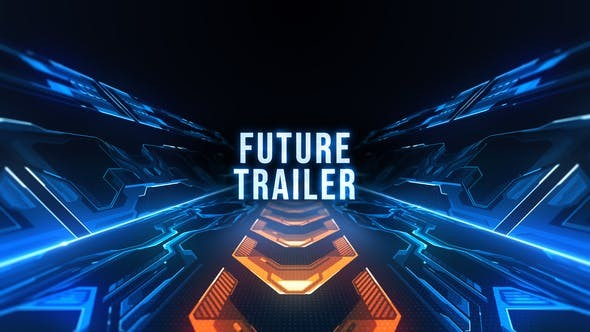 Videohive Future Trailer Titles 23638578