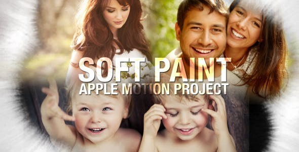 Videohive Soft Paint Logo 5770556