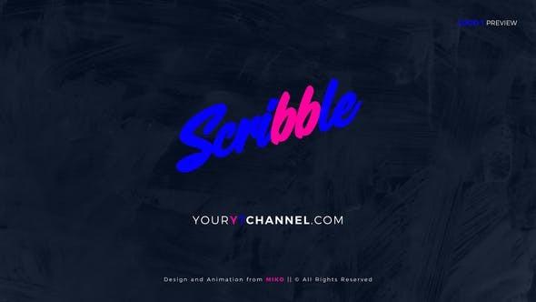 Videohive Scribble Logo Openers 22522266