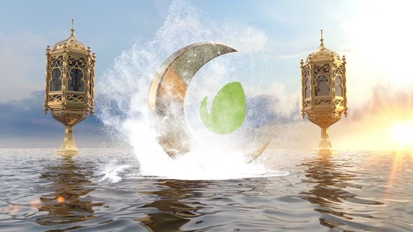 Videohive Ramadan On The Ocean Logo 23645038