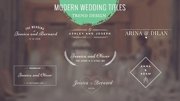 Videohive Wedding Titles 17123680