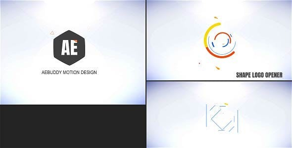 Videohive Shape Logo Opener - Teja 20294500