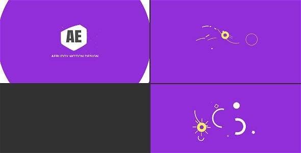 Videohive Shape Logo Reveal 20325180