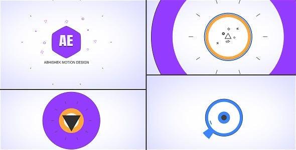 Videohive Shape Logo Opener - Hexa 20371762