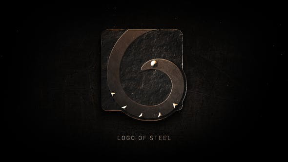Videohive Logo of Steel 23022753
