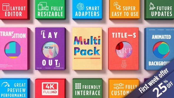 Videohive MultiPack 22649352