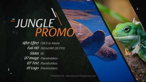 Videohive Jungle Promo 22668953