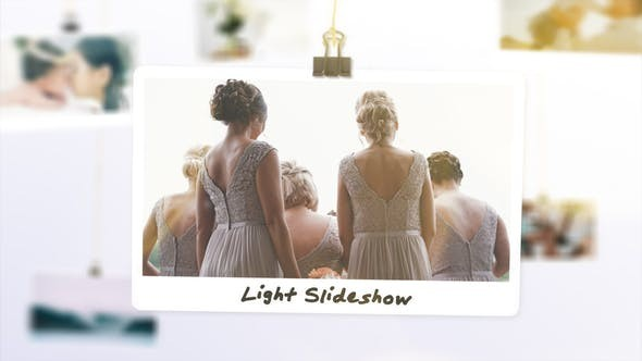 Videohive Light Photo Slideshow 23639143