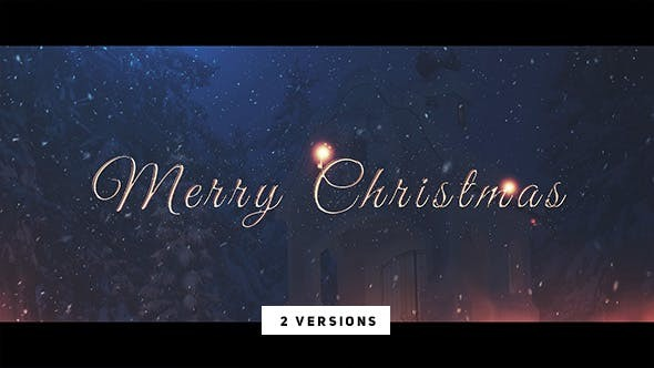 Videohive Christmas Wishes 21005391