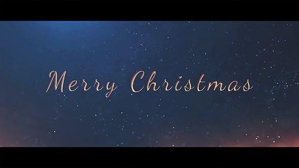 Videohive Christmas 21025253