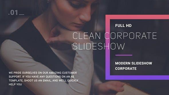 Videohive Corporate Slideshow 21225338