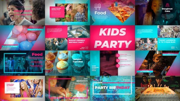 Videohive Kids Birthday Party 22649802