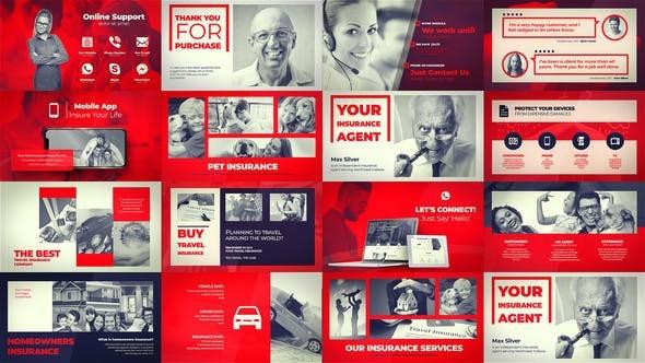 Videohive Insurance Company - Agent Portfolio 22944826