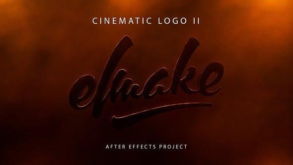 Videohive Cinematic Logo II 23472411
