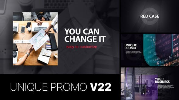 Videohive Unique Promo v22 22645718