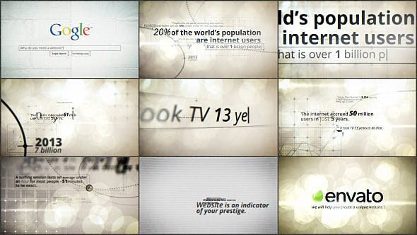 Videohive Presentation of the Company 8421943