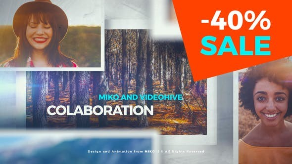 Videohive Clean and Simple Slideshow 23584950