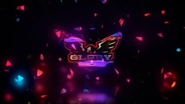 Videohive Glitch Logo Space 23655043
