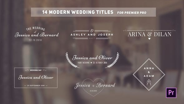 Videohive Wedding Titles 22257581