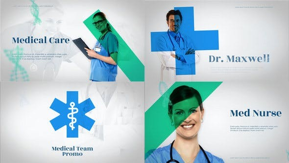 Videohive Medico - Medical Team Promo - After Effects Project