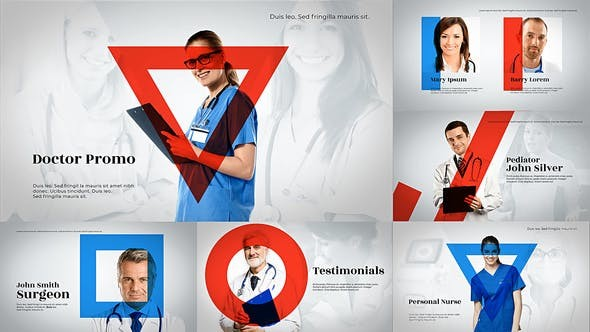 Videohive Medical Healthcare Promo 23352392 - After Effects Project