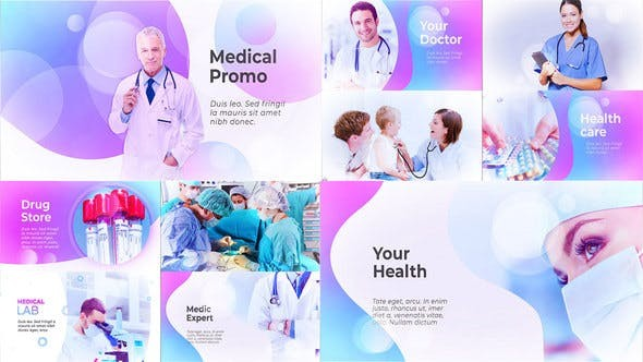 Videohive Medical Presentation - Medicine Promo 23309462 - After Effects Project