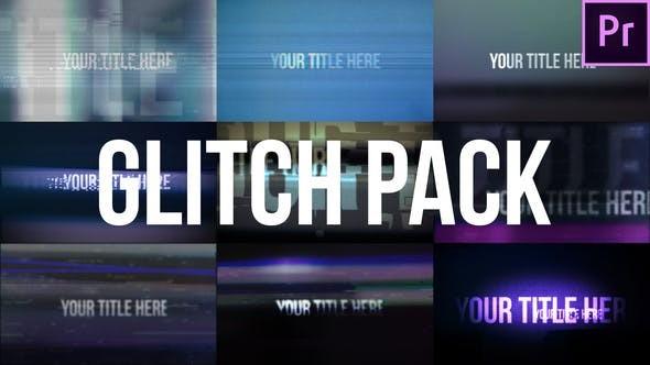 Videohive Glitch Title Pack - Premiere Pro Templates