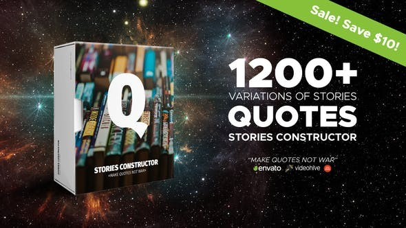 Videohive Stories Constructor Quotes