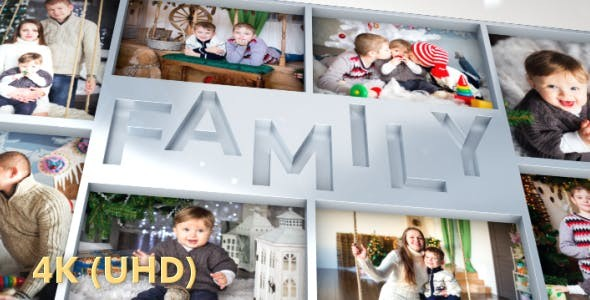 Videohive Family Photo Slideshow  - After Effects Project