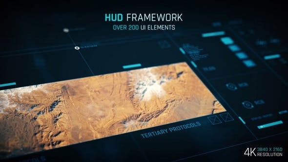 Videohive HUD - Framework  - After Effects Template