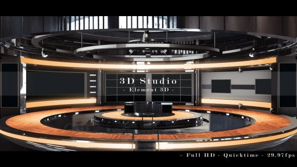 Videohive 3D Studio - After Effects Project