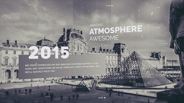 Videohive  History Slideshow - After Effects Template