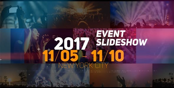 Videohive Event Slideshow - After Effects Template