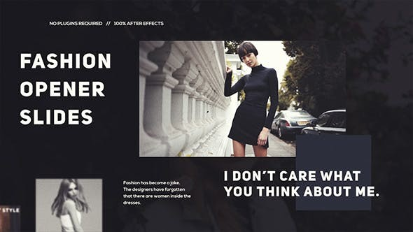 Videohive  Stylish Fashion - After Effects Template
