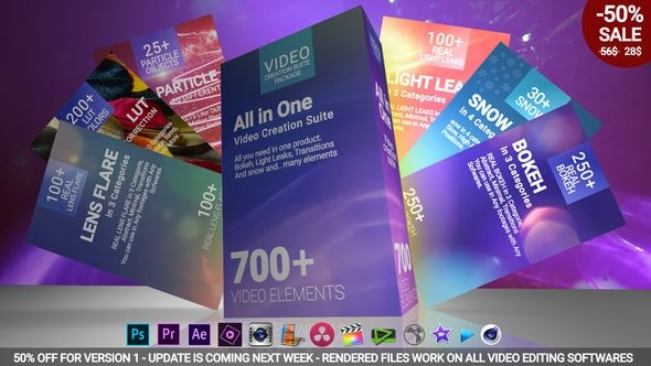 Videohive 700 Video Creation Suite V2 - Transition 22974586