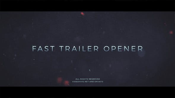 Videohive  Trailer Opener - After Effects Template