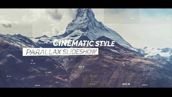 Videohive  Cinematic Slideshow - After Effects Template