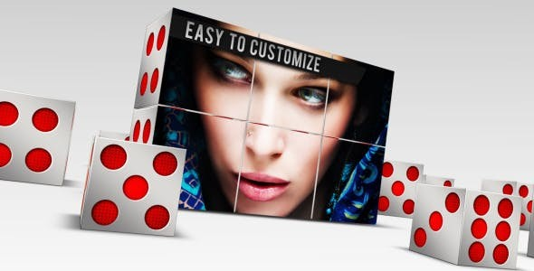 Videohive  3D Dice Presentation - After Effects Template