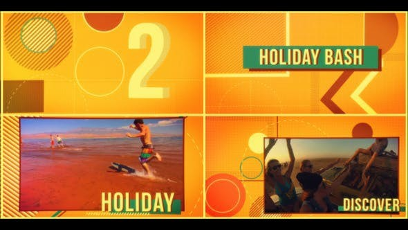 Videohive  Holiday Stopmotion - After Effects Template